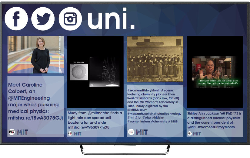Social TV for universities