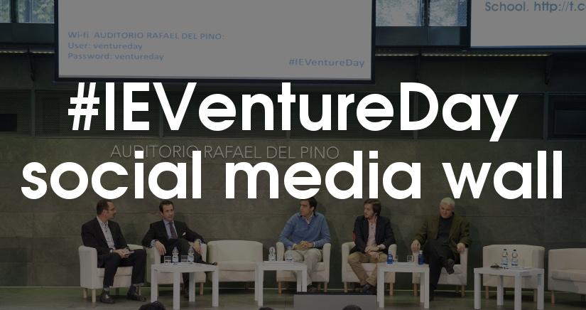 #IEVentureDay, a trending startup event