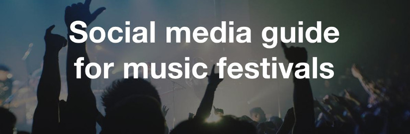 Social media guide for music festivals