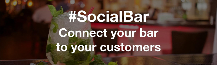 #SocialBar connects your bar to your customers