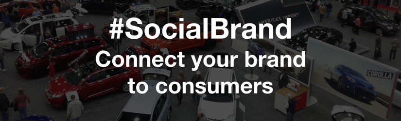 #SocialBrand connects your brand to consumers