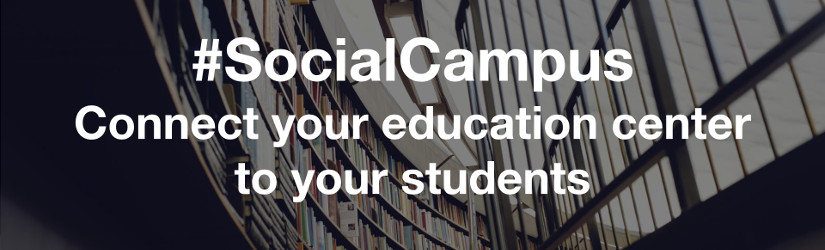 #SocialCampus connects your education center to your students