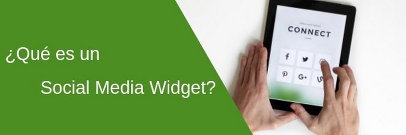 ¿Qué es un Social Media Widget?