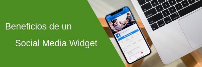 Los beneficios de usar un Social Media Widget