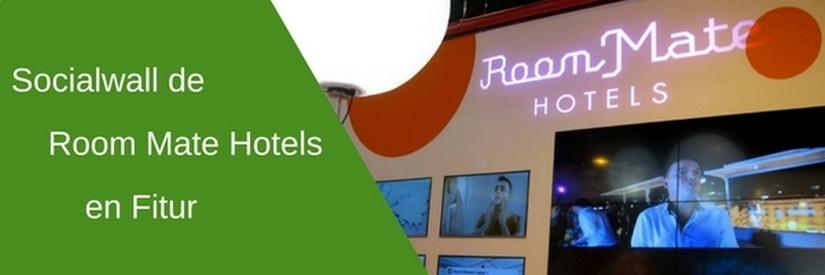 Socialwall de Room Mate Hotels en Fitur