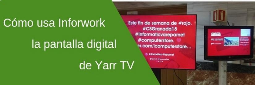 Cómo usar una Social TV: el ejemplo de Infowork