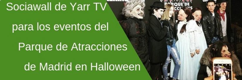 Pasarlo de miedo en el Parque de Atracciones de Madrid