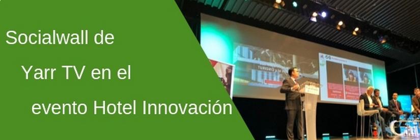 Hotel Innovación confirma la tendencia en redes sociales para eventos